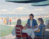 Afternoon Tea at the Seaside