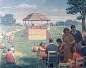 At the Bandstand in Summer